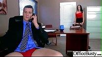 (Sybil Stallone) Big Tits Sluty Girl In Hardcore Sex In Office clip-29