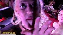 Italian pornstars orgy on stage thumbnail
