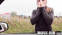 Mofos - Stranded Teens - (Alessandra Jane) - Horny Hitchhiker Sucks Cock