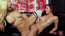 GIRLS GONE WILD - Young Lesbians Alexis Deen and Kelly Paige Get To Know Each Other video