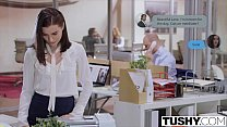 TUSHY Lana Rhoades First Double Penetration thumbnail