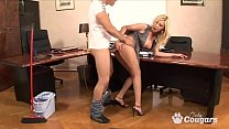 Donna Bell Gets Fucked In The Ass By The Office Janitor - Anal