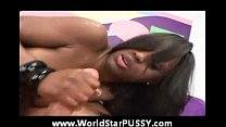 Jada Fire takes on big white cock preview image