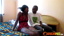 Real African Amateur Teen Blows Boyfriend