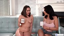 We are nudist and I'm lesbian! - Jenna Sativa and Jade Baker