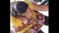 Hottest indian maid big boobs cleavage