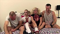 Image: Michelle Thorne & Chessie Kay in orgy show