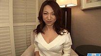 Image: Kanako Tsuchiyo tries tasty cock between her smooth lips