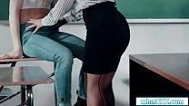 Ivy licks stepmom teacher for high grade