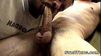 Suck Big Hard Str8ThugMaster Cock Faggot