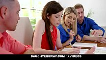 DAUGHTERSWAP HORNY DAUGHTERS SUCK OFF HOT STEPDADS