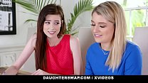 DaughterSwap - Horny Daughters Suck Off Hot Stepdads - 69VClub.Com