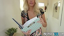 PropertySex - Very good looking real estate agent fucks home owner