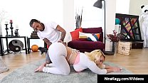 Nympho Nina Kayy Banged By Fat Ebony Cock!