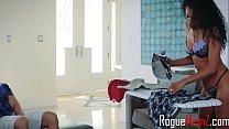 Ebony Mom's Interracial Interaction With Daughter's Boyfriend- Mya Mays & Jasmyne De Leon