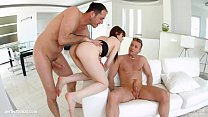 Luna Rival gets her holes filled up with jizz of creampie by All Internal