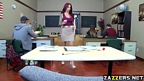 Monique Alexander gives a hot teacher blowjob