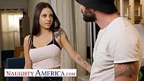 Naughty America - Melody Foxx fucks her Soccer coach
