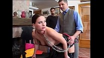Sklavin den Kollegen zum benutzen vorgestellt - Slave - Sub