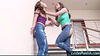 Hot Lez Girl (adriana&casey) Get Punish With Dildos By Mean Lesbian video-04