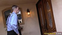 Cuckold Husband Watches Britney Amber Does Anal And DP صورة
