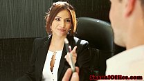 Office secretary Isabella De Santos jizzed on tumblr xxx video