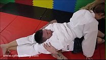 Jiu Jitsu Issues - Mixed Wreslting Humiliation