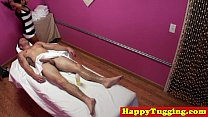 Real japanese masseuse gives happy ending صورة