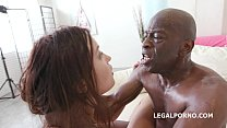 Roxy Dee Goes Interracial For The 100 Anal Fuck Of Her Life With Big Black Cock
