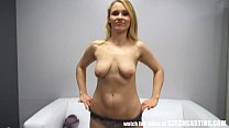 Married Young Girl Gets Ass Fucked and Facialed POV, sucking mom boobs thumbnail