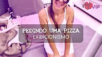Cristina Almeida Provocando Entregador De Pizza