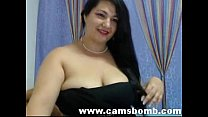 busty brunette on webcam - www.camsbomb.com