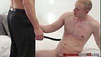 Mormon elder cums tugging