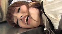 999analcam.com - Hot maid masturbates in the kitchen with a toy