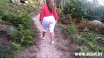 Mother fucks with her son in the forest. New pe...