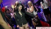 Hottest euro euro amateur gobbles cock on dancfloor video