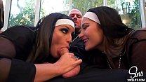 Image: Priest fucking Nuns, Dani Daniels and Kissa Sins - The Sins Life