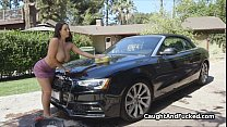 Carwash to hot fuck with bigtit