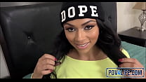 Black Teen Bethany Benz Picked Up POV
