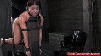 BDSM bondage slut interracial fucked