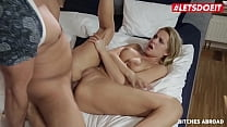 LETSDOEIT - (Nikky Dream & Neeo) Big Ass Czech Babe Gets Anal Abroad From The Guy That Broke Her Glasses