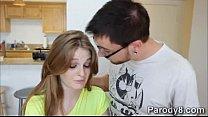 Fay teaches slutty teen Dani to do naughty blowjobs-horny-guy-HD-2