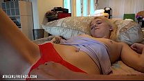 Skinny blonde Kate Bloom takes all of your cock (POV Style) pornhub video