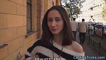 Doggystyle pounded babe filmed on sextape
