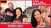Chubby Pornstar Ashley Cumstar hammers her fat pussy to a young dick! CamBaron.com