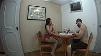 Bianca Naldy Em: Sex at Breakfast! Full Scene in XV Red