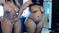 Two ebony bbw masturbates on cam www.hotcamgirls.com.nu