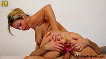 Sweet submissive MILF Jenny Smith gets her puss...