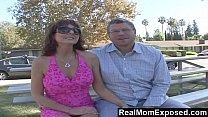 RealMomExposed - Hubby gets his kick watching wife fuck pro stud preview image