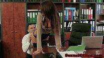 Classy secretary Alexis Brill fucks her boss Vorschaubild